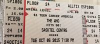 Floor tickets to The Who
