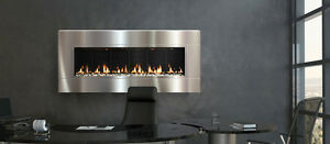 Wall Mount Direct Vent Gas Fireplace- - St. John's Location