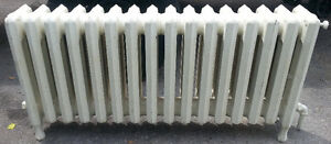 Low FatBoy Antique Cast Iron Water Radiator / High Grade