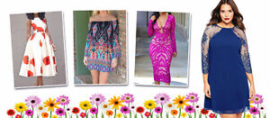 Plus Size Clothing for women from casual dresses to evening wear