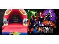 Superhero 12x15 commercial bouncy castle