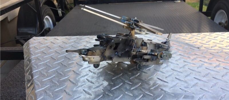 Military Helicopter Scale Model