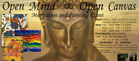 Open Mind  ∞  Open Canvas  Meditation & Painting Event