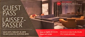 Air Canada Maple Leaf Lounge (MLL) Guest Passes