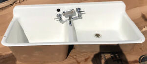 1941 Cast Iron Sink with tap
