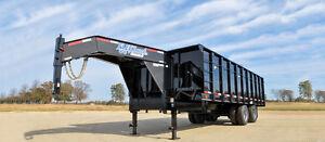 25 900 lbs DUMP TRAILER - 18' HEAVY DUTY DUMP TRAILER
