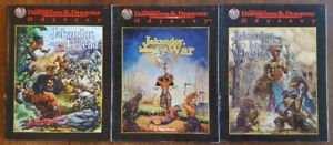 DUNGEONS & DRAGONS JAKANDOR CAMPAIGN SETTING MODULES