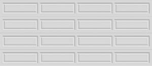 Clearance Garage Door - R19 16x7  white Blow out price