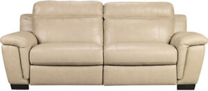 Excellent Condition Cindy Crawford HOME Match Sofa U0026 Love Seat
