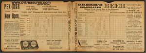 1895-Baltimore-Orioles-Vs-New-York-Giants-Vintage-Baseball-Program-SUPER-RARE