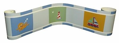 (Wall Border For Sail Away Baby Bedding Set By Sisi)