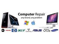Laptop Repairs/Home Service/ Software Installation, Windows 7/8/10 Microsoft Office 2016/PC & MAC