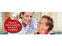Live in Carer, £600-£469 per week. (Female carer)
