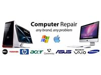Home Service Laptop Repairs, Complete Windows 7/8/10 Installation , Broken LCD