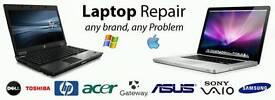 LAPTOP & PC REPAIR SAMEDAY £10
