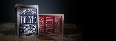 TALLY HO #9 Playing Cards 12 Decks Fan Back Original New