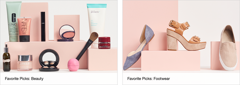 Favorite Picks: Beauty | Favorite Picks: Footwear