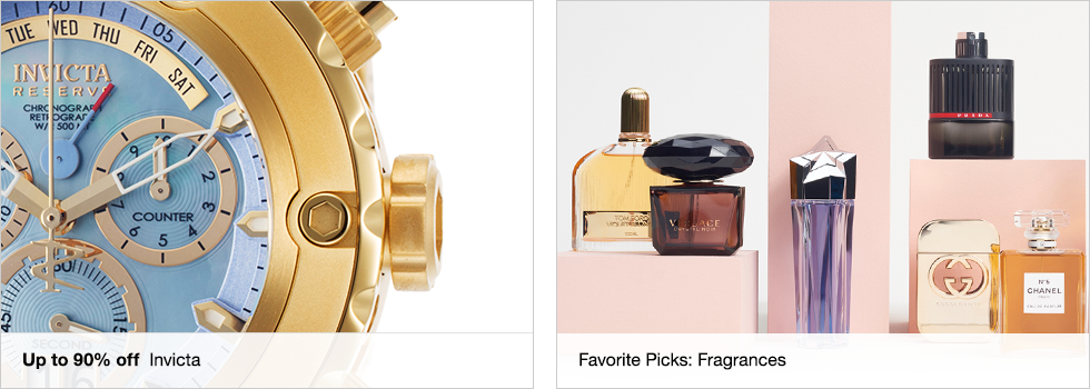 Up to 90% off Invicta | Favorite Picks: Fragrances