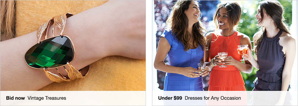 Bid now Vintage Treasures | Under $99 Dresses for Any Occasion | Shop now