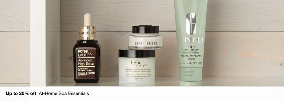 Up to 20% off At-Home Spa Essentials | Shop now