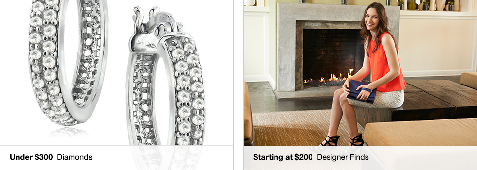 Under $300 Diamonds | Starting at $200 Designer Finds