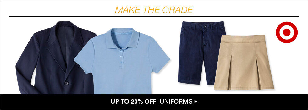 UP TO 20% OFF UNIFORMS