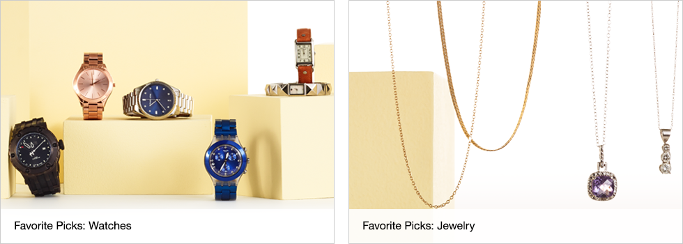 Favorite Picks: Watches | Favorite Picks: Jewelry | Shop now