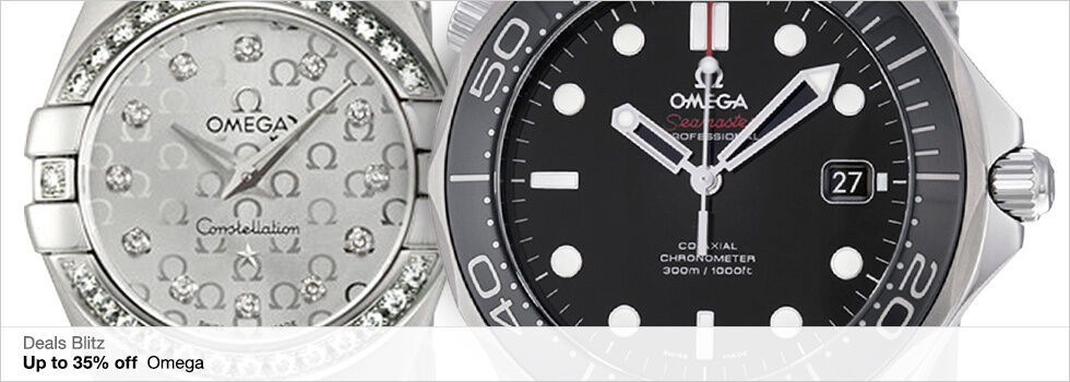 Deals Blitz | Up to 35% off Omega | Shop now