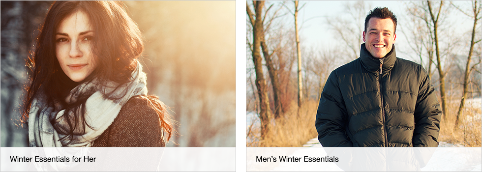 Winter Essentials for Her | Men's Winter Essentials