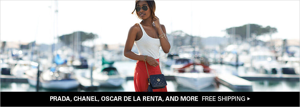 PRADA, CHANEL, OSCAR DE LA RENTA, AND MORE | FREE SHIPPING