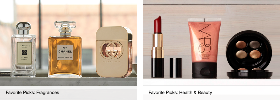 Favorite Picks: Fragrances | Favorite Picks: Health & Beauty