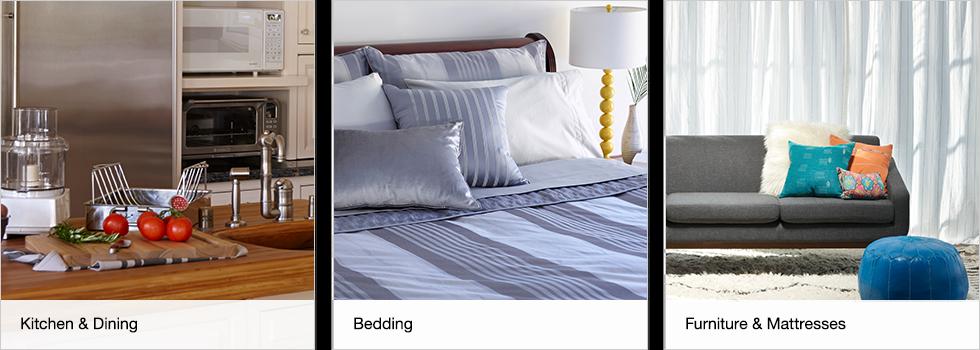 Kitchen & Dining   Bedding   Furniture & Mattresses   Shop now