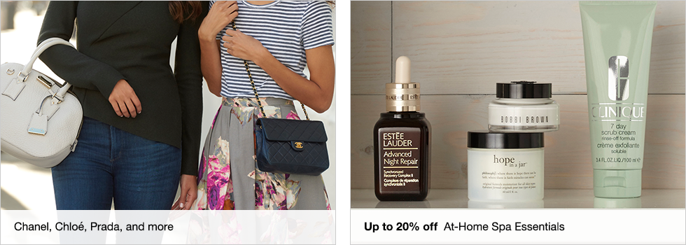 Chanel, Chloe, Prada, and more | Up to 20% off At-Home Spa Essentials