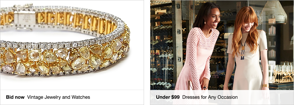 Bid now Vintage Jewelry and Watches | Under $99 Dresses for Any Occasion