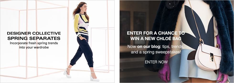 Designer Collective Spring Separates | Enter for a chance to win a new Chloe Bag