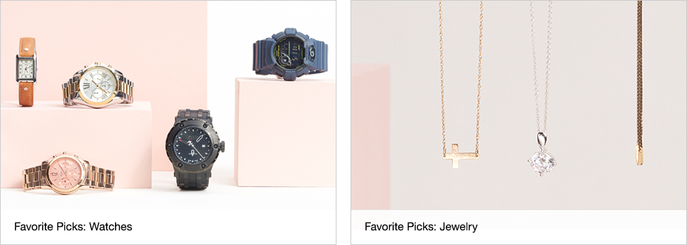 Favorite Picks: Watches | Favorite Picks: Jewelry