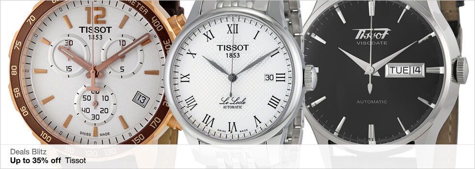 Deals Blitz | Up to 35% off Tissot | Shop now