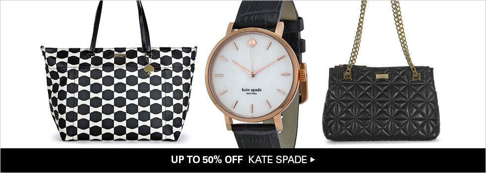 UP TO 50% OFF KATE SPADE