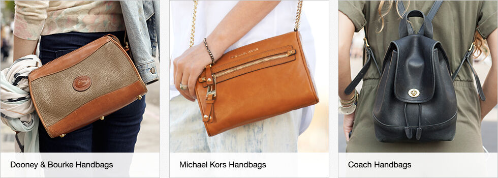 Dooney & Bourke, Michael Kors and Coach Handbags