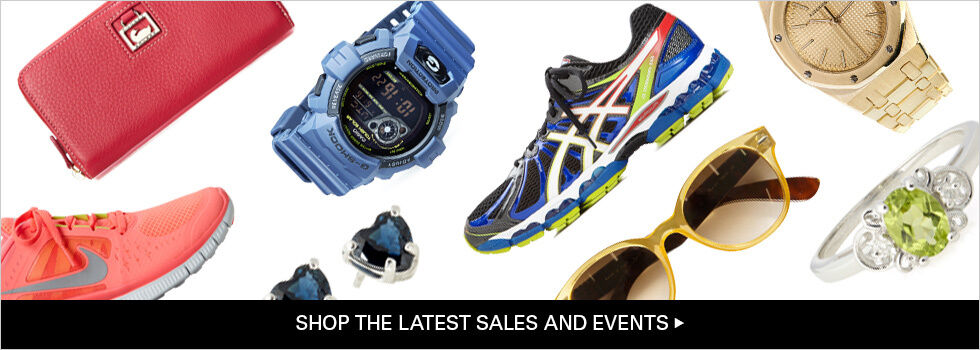SHOP THE LATEST SALES AND EVENTS