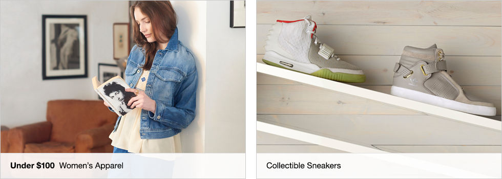 Bids start at 99¢ | Last Chance | Collectible Sneakers | Shop now