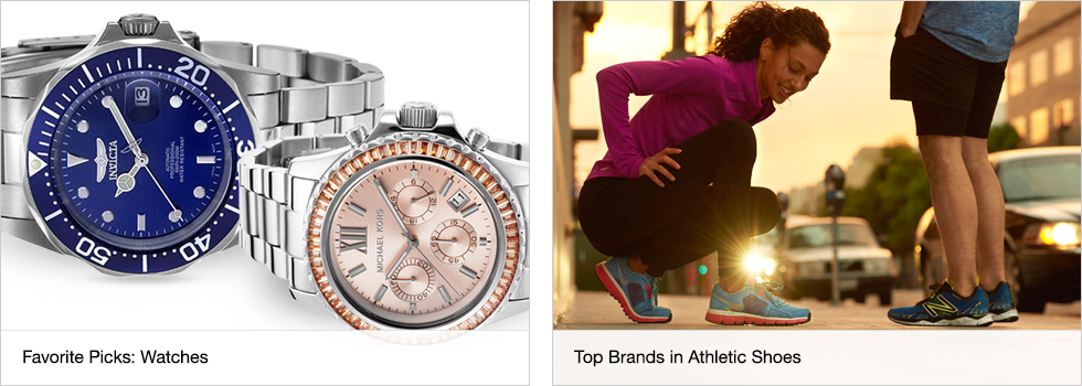 Favorite Picks: Watches | Top Brands in Athletic Shoes