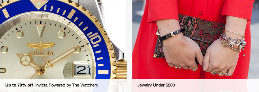 Up to 70% off Invicta Powered by The Watchery | Jewelry Under $200