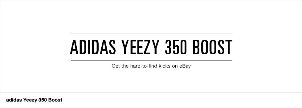 adidas Yeezy 350 Boost | Get the hard-to-find kicks on eBay