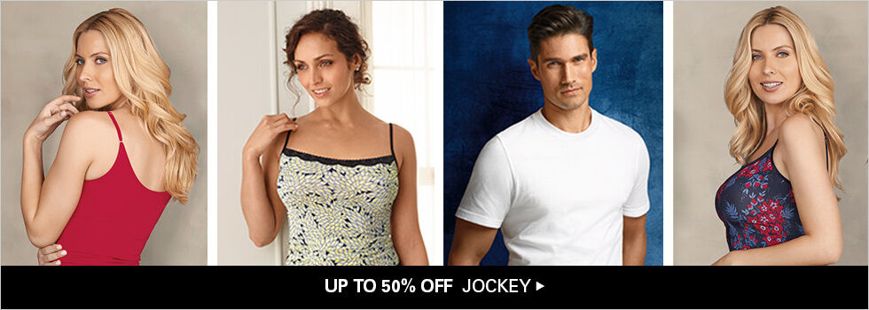 UP TO 50% OFF JOCKEY
