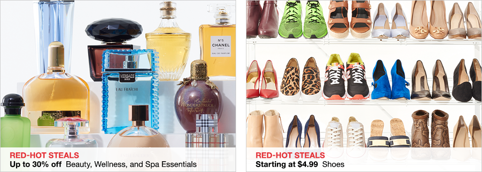 Red-Hot Steals Up to 30% off Beauty, Wellness, and Spa Essentials | Starting at $4.99 Shoes