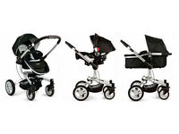 Graco symbio 3in1 travel system