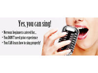 Singing lessons ( beginners welcome)