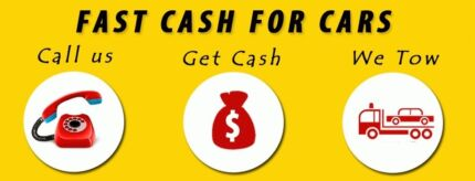 WE PAY CASH FOR CARS VANS UTES 4X4 IN ANY CONDITION FREE TOWING Homebush Strathfield Area Preview