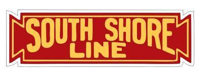 Chicago South Shore & South Bend Railroad Sticker R6989 Rail Train PICK
